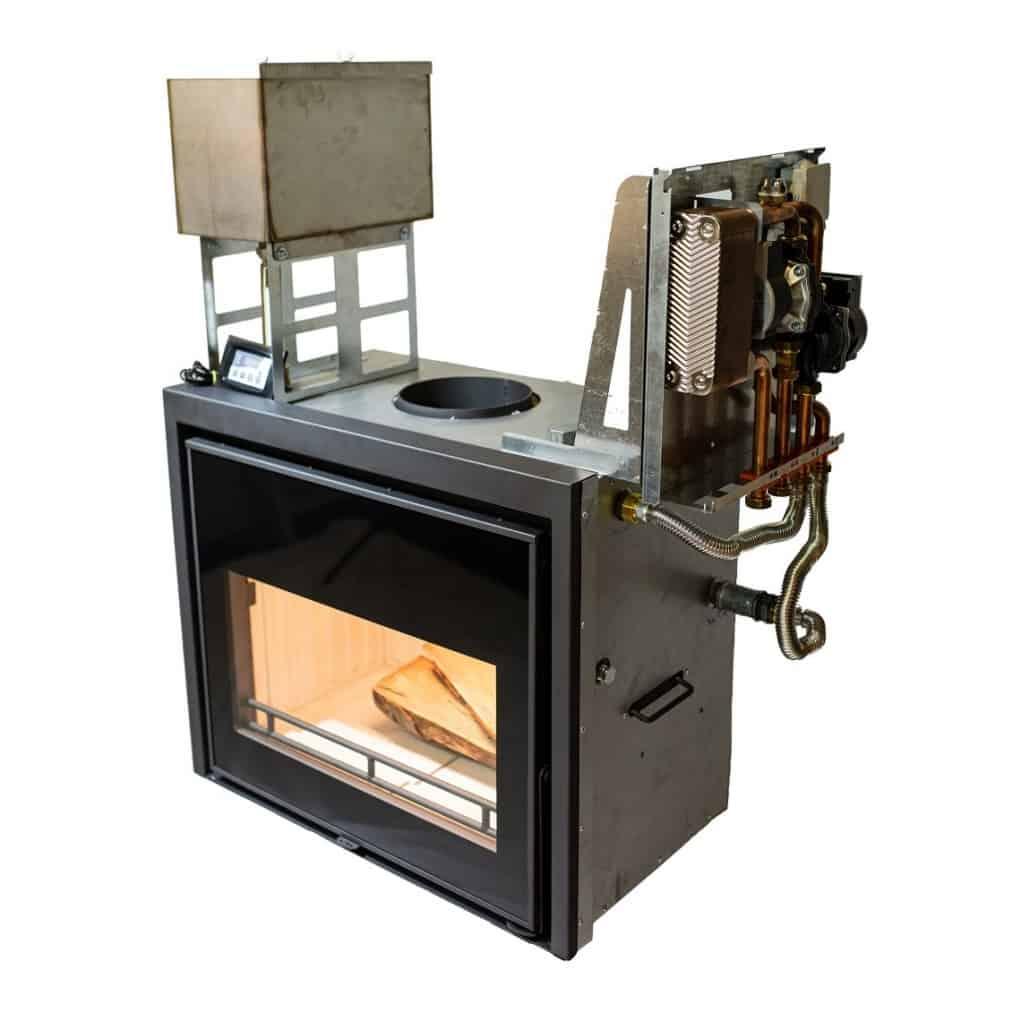 2 termosemineu lemne calorvision idro 16kw otel