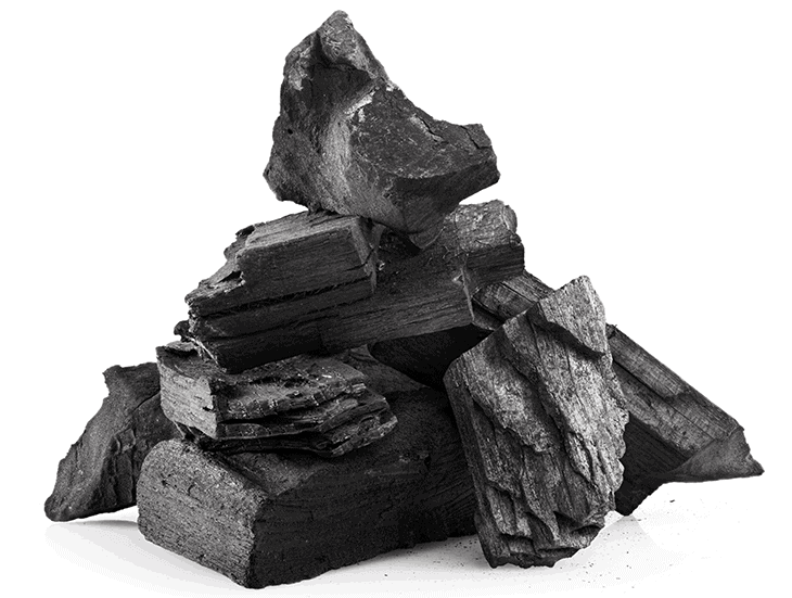 4 carbuni lemn de esenta tare gratar