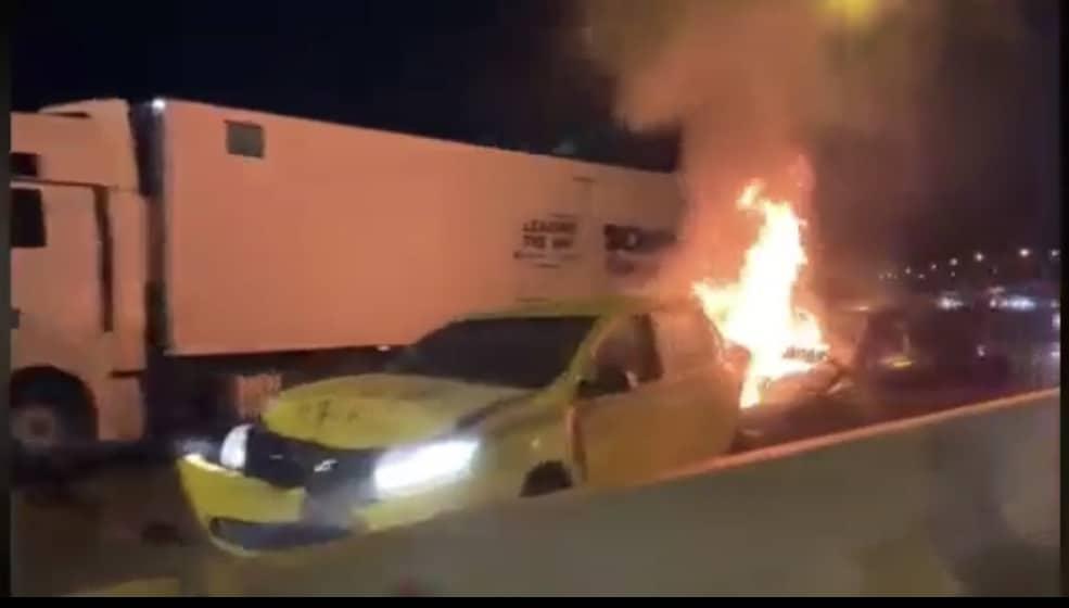 Accident Vestem incendiu