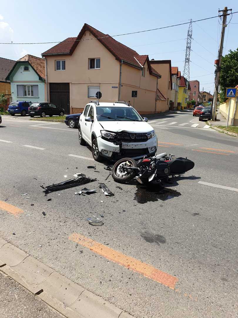 accident motociclist selimbar 2