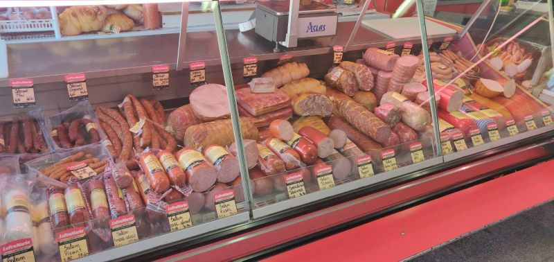 carne magazin vitrina
