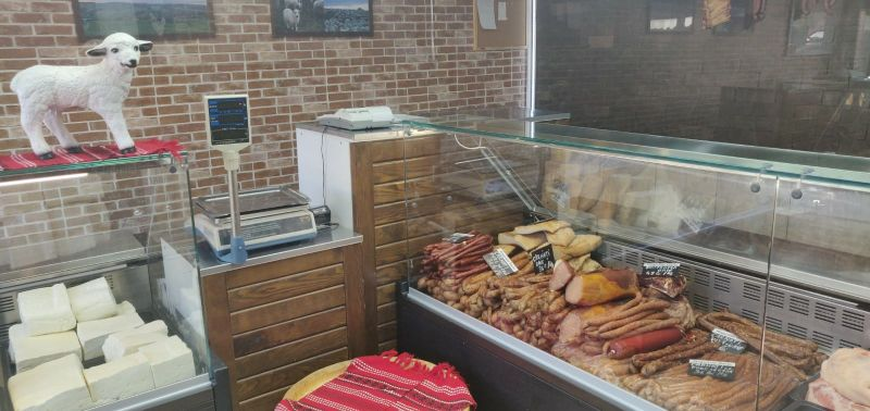magazin carne vitrina