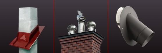 6 accesorii cosuri de fum ceramica inox palarie racord tubulatura