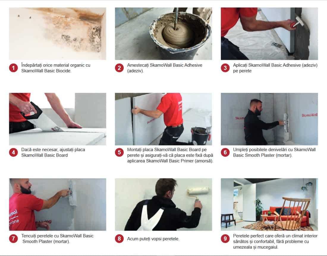 2 instructiuni montaj placi izolatoare anti mucegai