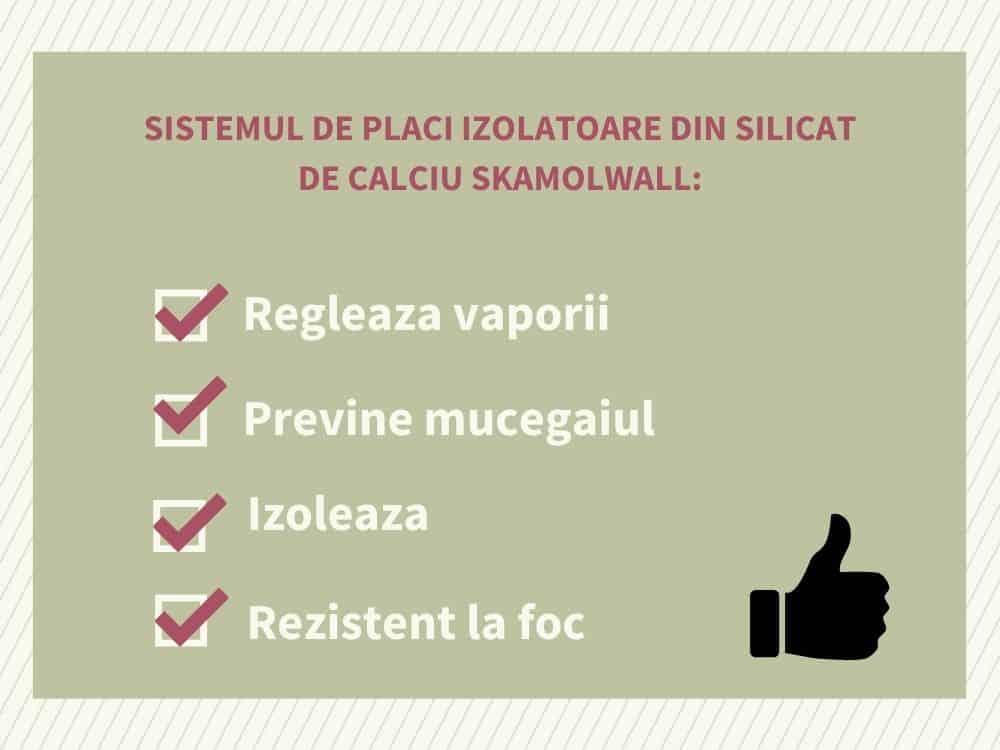 4 SISTEM DE PLACI IZOLATOARE DIN SILICAT DE CALCIU SKAMOLWALL