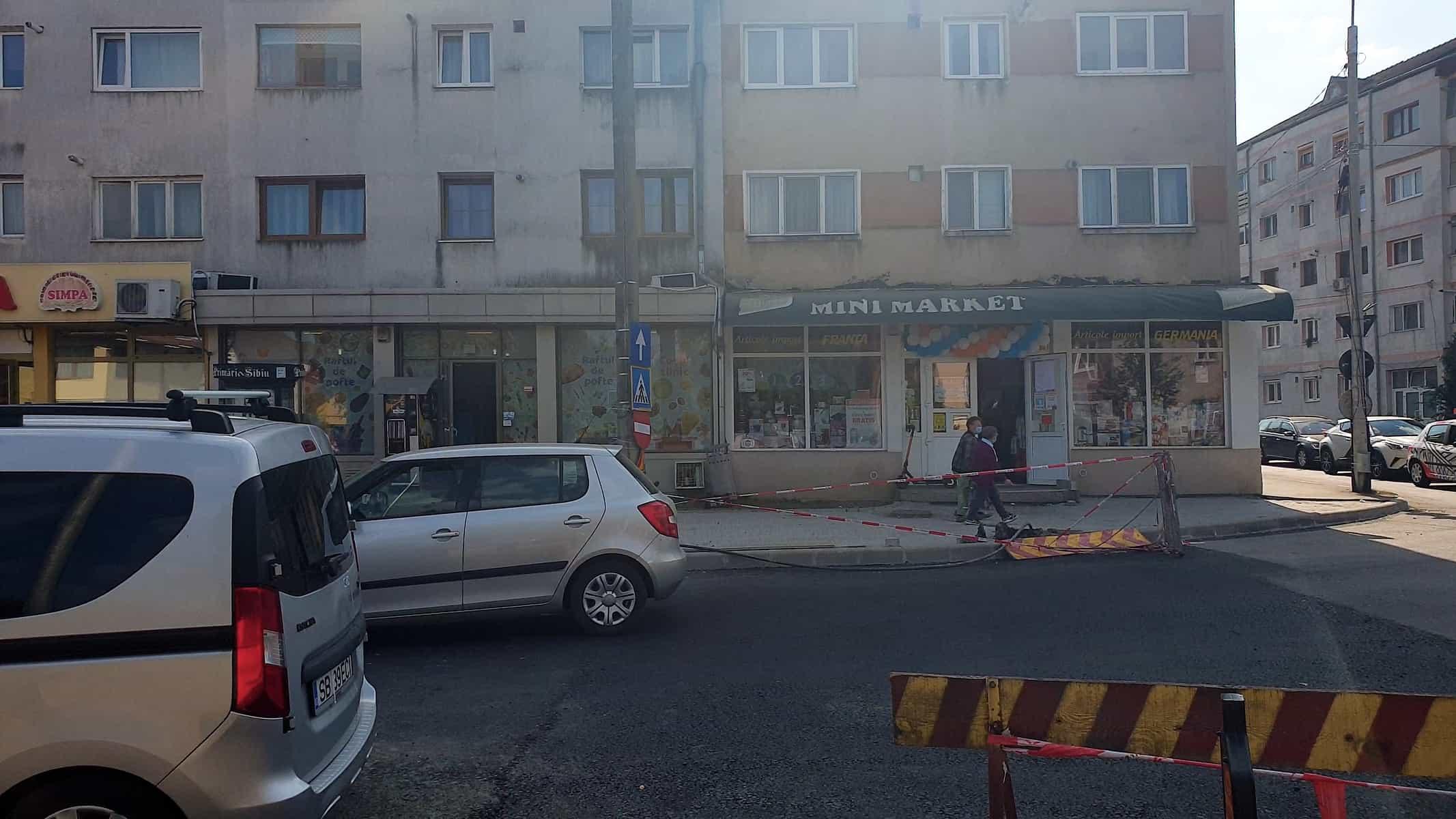 Lucrari la Calea Dumbravii 05