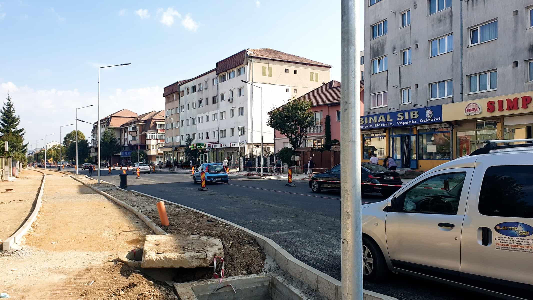 Lucrari la Calea Dumbravii 07