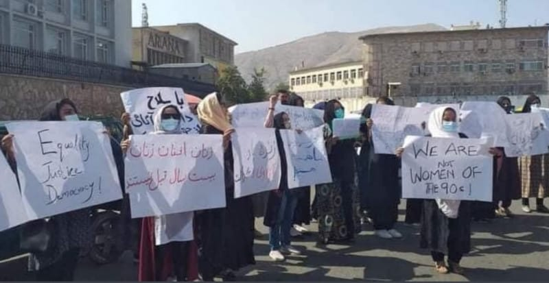 protest kabul
